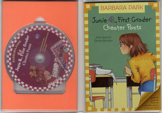 Thumnail : Junie B. Jones #21:First Grader (Cheater Pants) (B+CD)