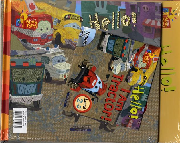 Little Story Town 2-8:Hello! I Am Tractor!(B+CD+W+Phonics) Set