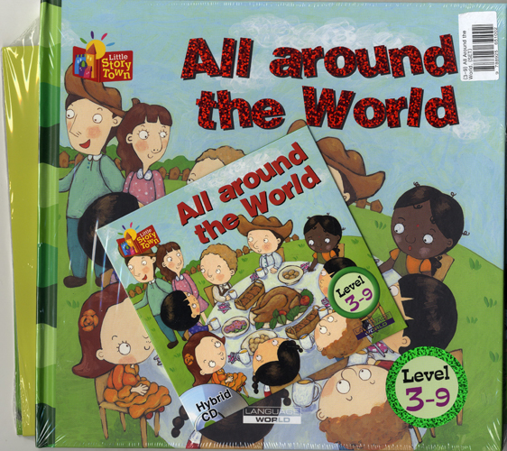 Little Story Town 3-9:All around the World (B+CD+W+Phonics) Set