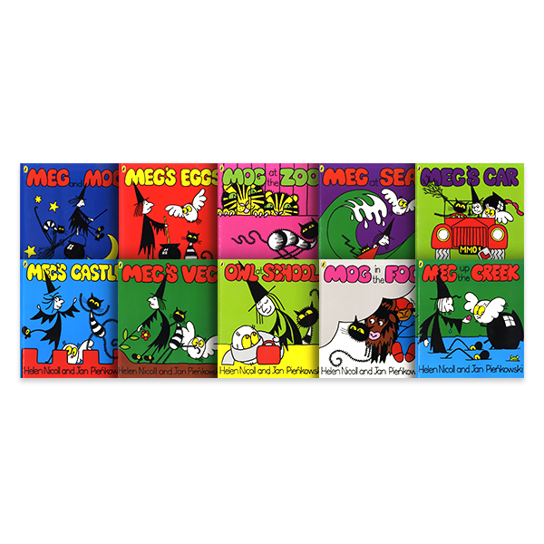 PE-Meg and Mog Collection - 10 Books (Collection)