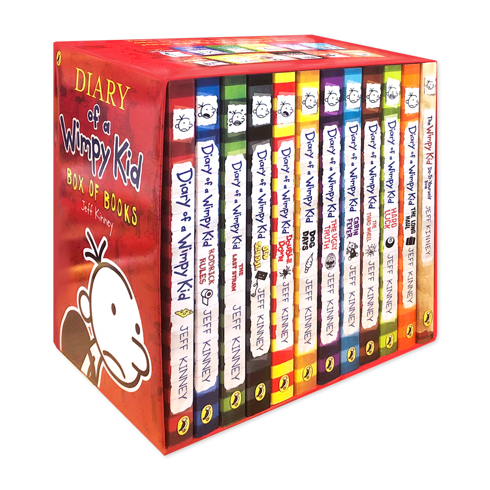 Diary of a Wimpy Kid Collection (12 paperback, 영국판)