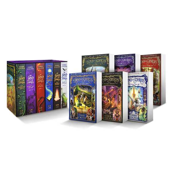 LB-The Land of Stories Complete Paperback Gift Set
