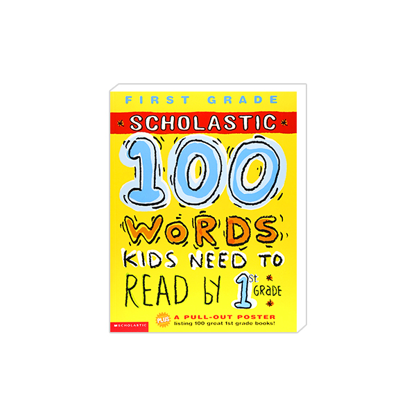 100 Words Kids Need To Read by 1st Grade 대표이미지