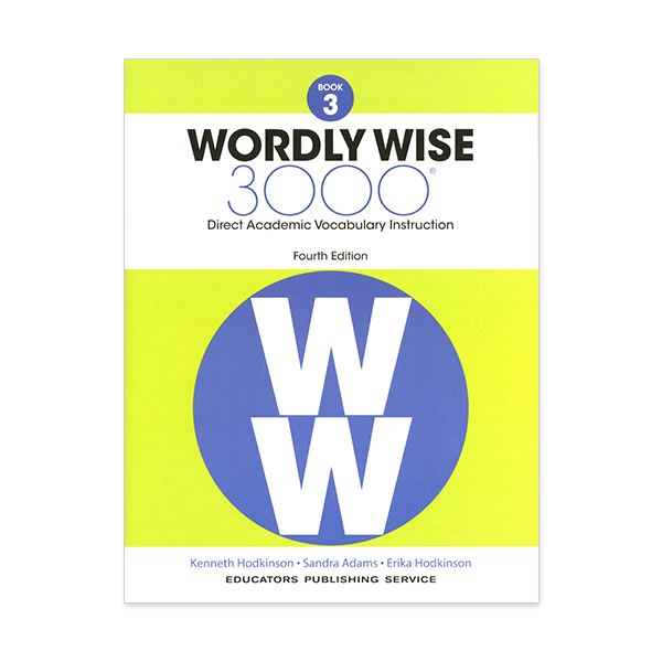 Wordly Wise 3000: Book 03 (4/E) 대표이미지