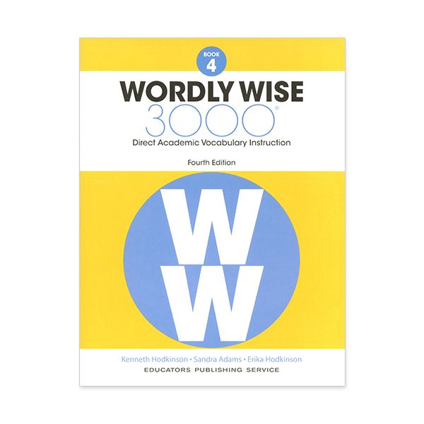 Wordly Wise 3000: Book 04 (4/E) 대표이미지