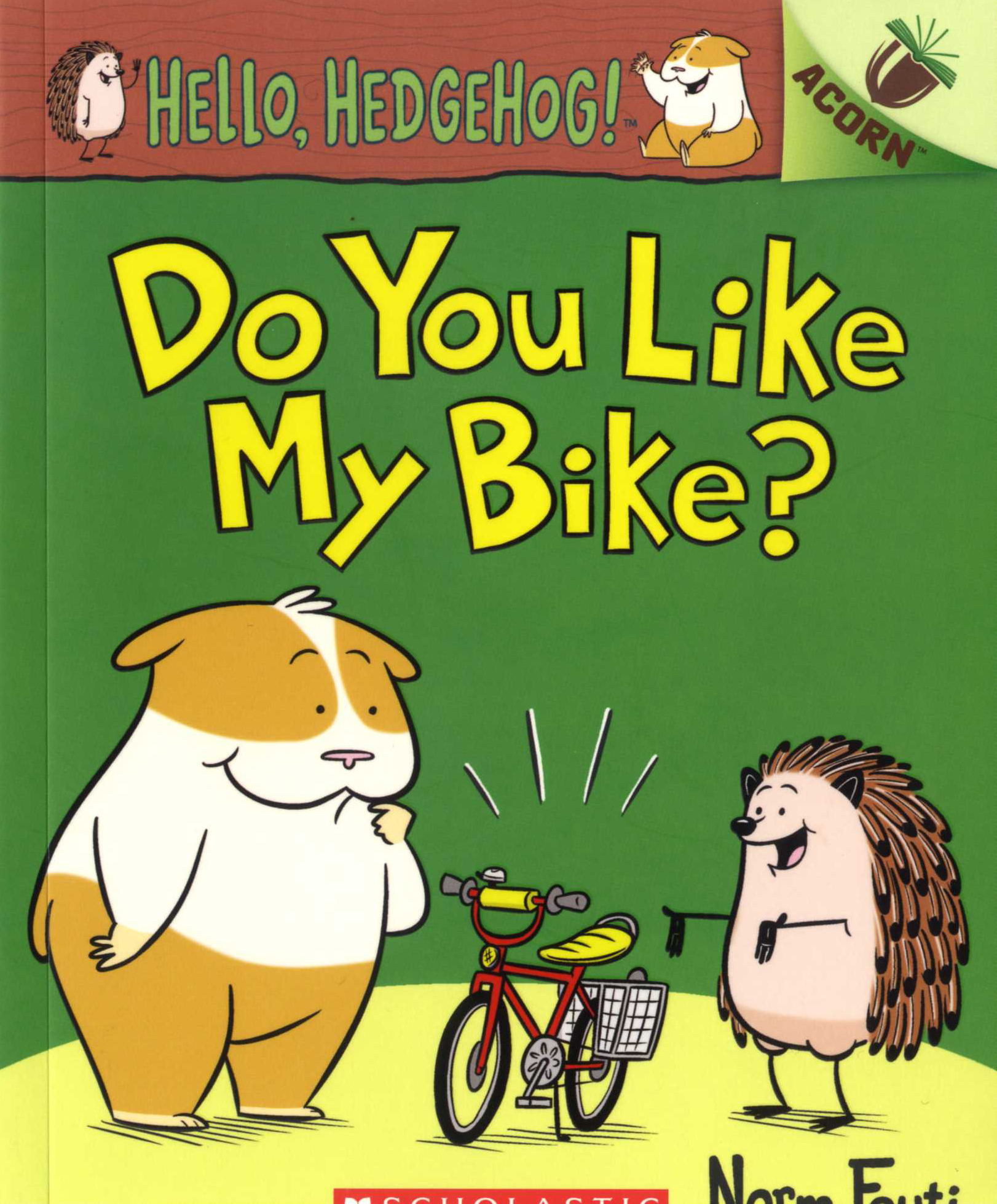 Hello, Hedgehog! #1: Do You Like My Bike?