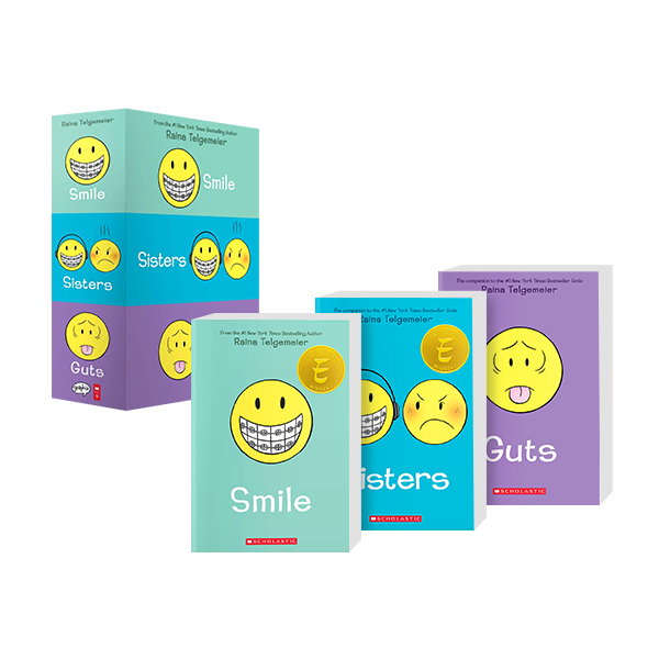 Smile, Sisters, and Guts:The Box Set (Paperback)
