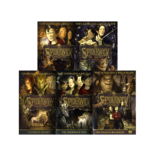 SS-The Spiderwick Chronicles: The Complete Series (Boxed Set)