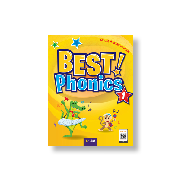 Thumnail : Best Phonics 1 (SB+Readers+DVD+CD)