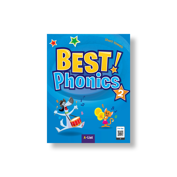 Best Phonics 2 (SB+Readers+DVD+CD) 대표이미지
