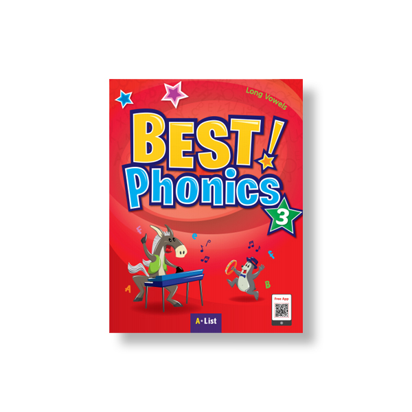 Thumnail : Best Phonics 3 (SB+Readers+DVD+CD)