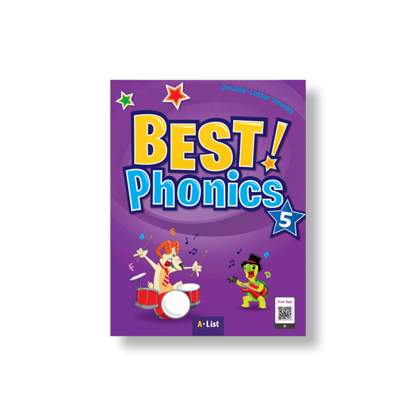 Thumnail : Best Phonics 5 (SB+Readers+DVD+CD)