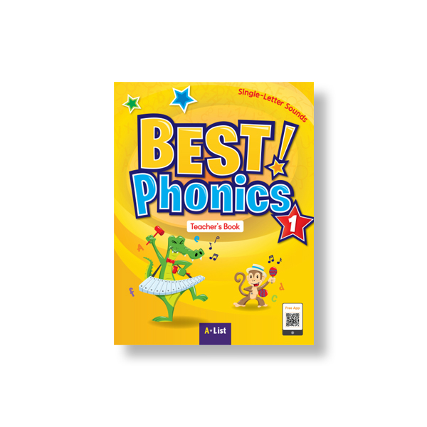 Best Phonics 1 (TB+Readers+DVD+CD)