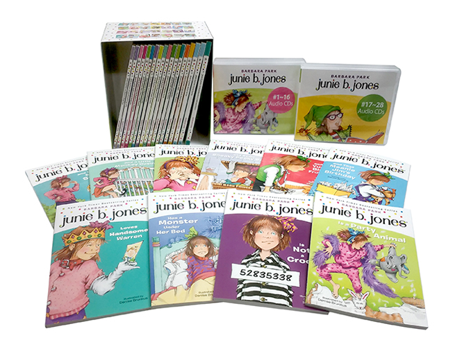 Thumnail : Junie B. Jones 1~28권 세트(B+C+W)