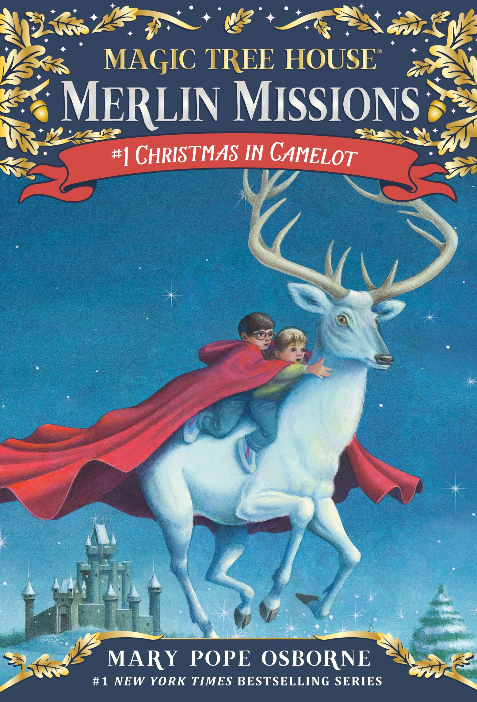Magic Tree House Merlin Missions #1:Christmas in Camelot (PB) 대표이미지