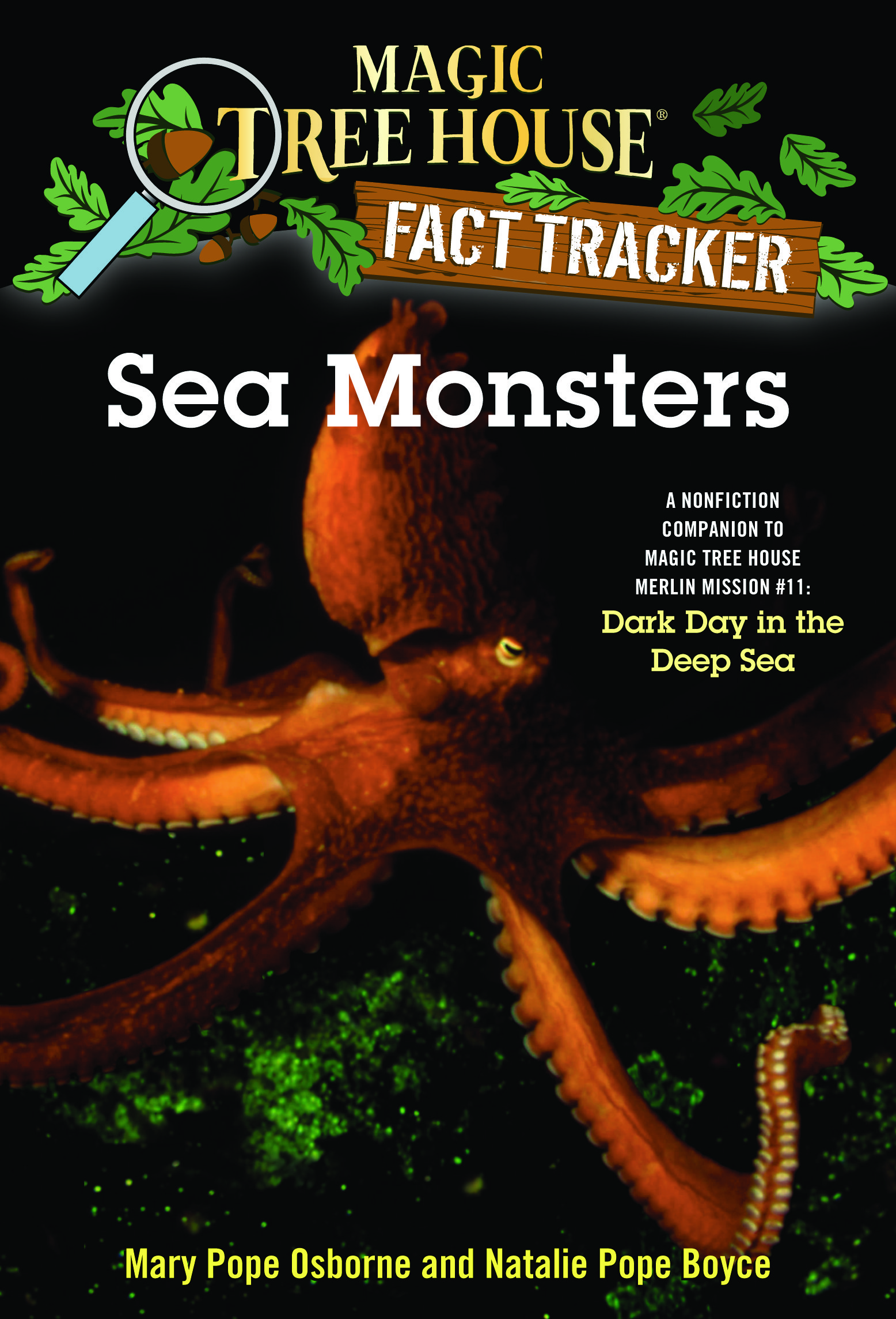Sea Monsters (Magic Tree House Fact Tracker, Book 17)