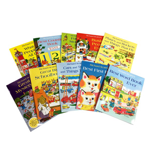 Richard Scarry bag with 10 books  대표이미지