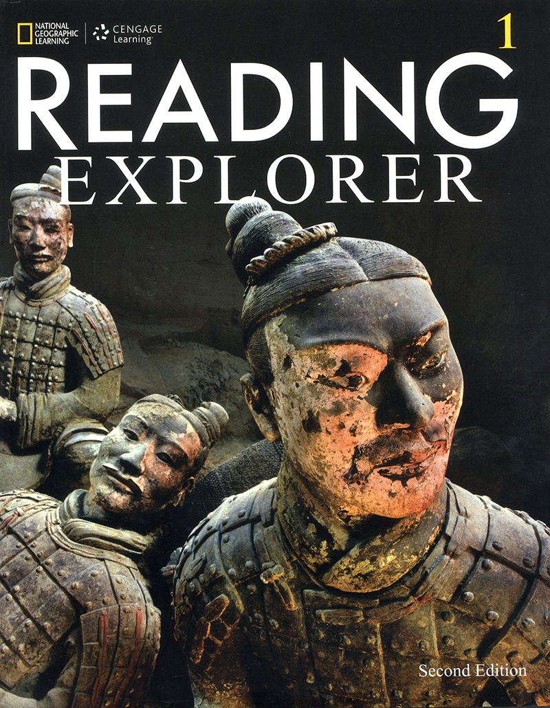 Reading explorer 2/E 1 SB + Online WB sticker code 대표이미지