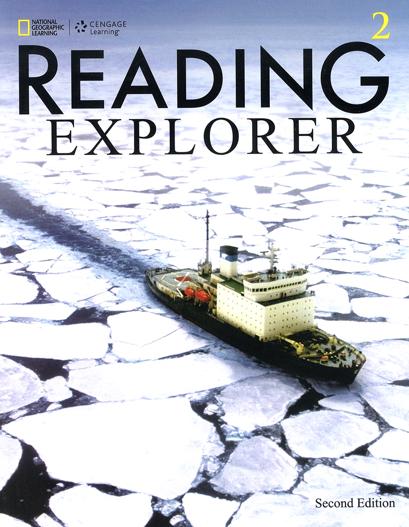 Reading explorer 2/E 2 SB + Online WB sticker code 대표이미지