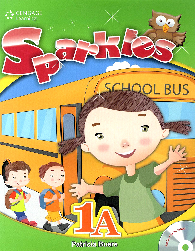Thumnail : Sparkles student book with workbook and audio CD 1A