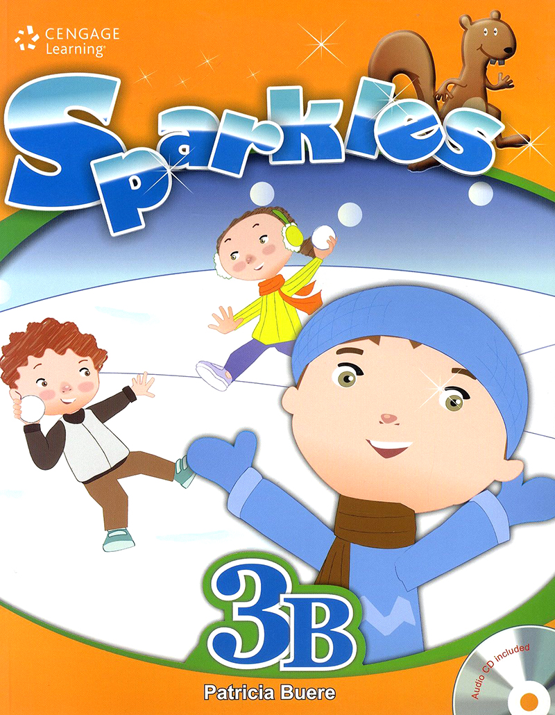 Thumnail : Sparkles student book with workbook and audio CD 3B