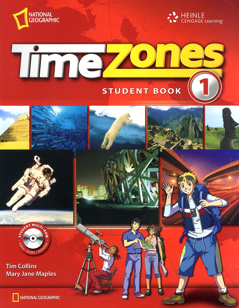 Time Zone Level 1 Student with Muti-Rom