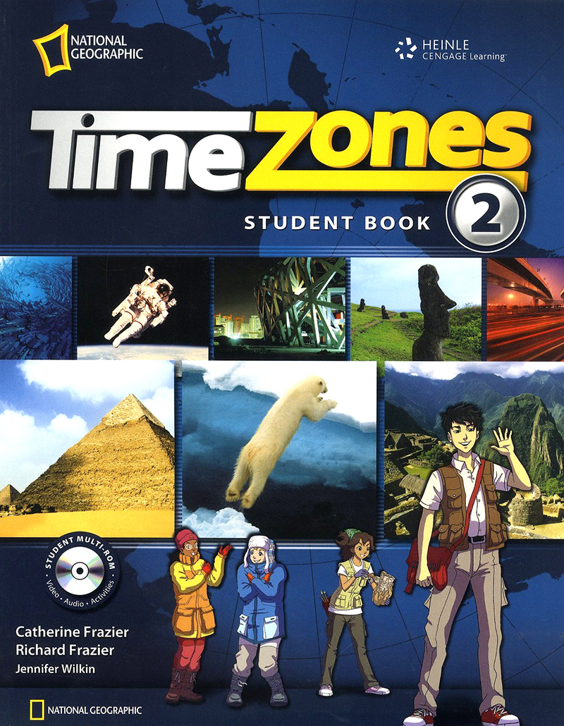 Time Zone Level 2 Student with Muti-Rom