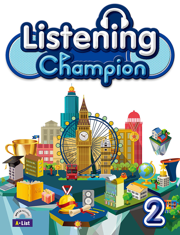 Thumnail : Listening Champion 2 (B+W+CD)