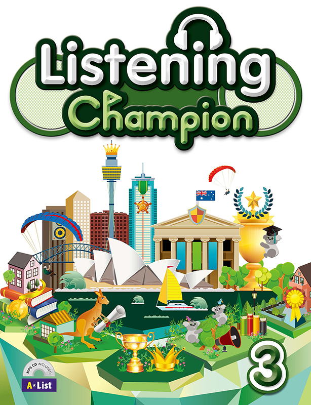 Thumnail : Listening Champion 3 (B+W+CD)