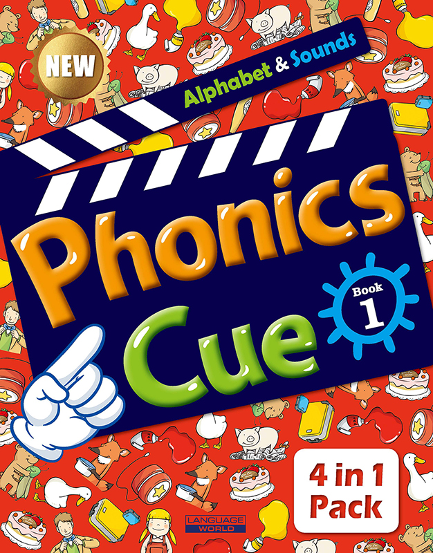 Phonics Cue 1 (SB+WB+AB+CD) New