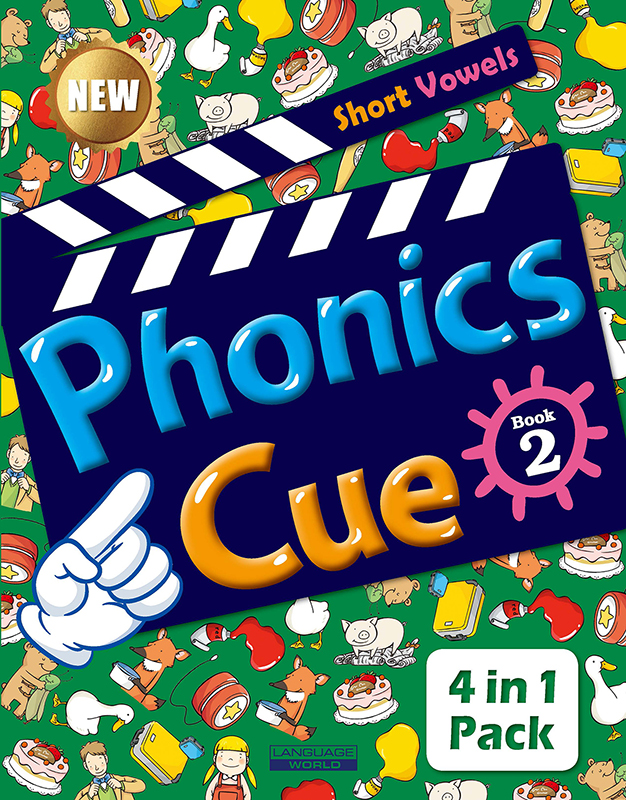 Phonics Cue 2 (SB+WB+AB+CD) New