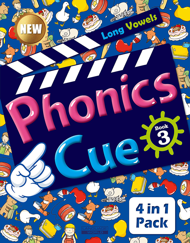 Phonics Cue 3 (SB+WB+AB+CD) New