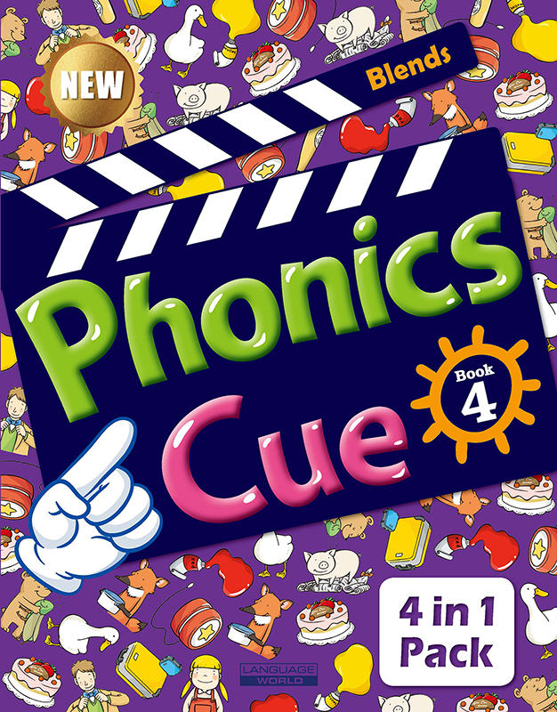 Phonics Cue 4 (SB+WB+AB+CD) New