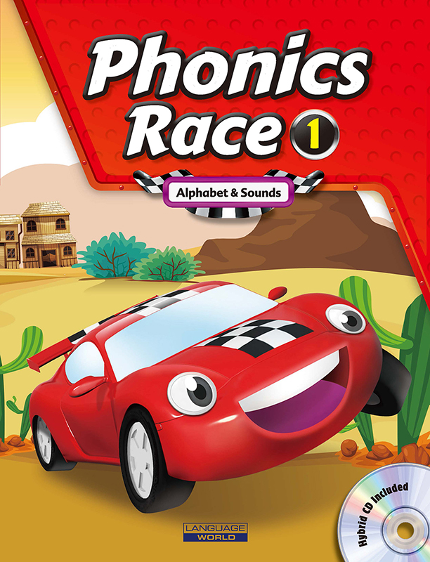 Phonics Race 1 (SB+WB+CD)