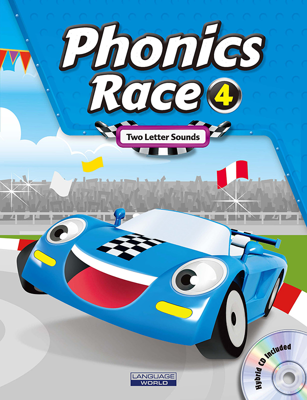 Thumnail : Phonics Race 4 (SB+WB+CD)