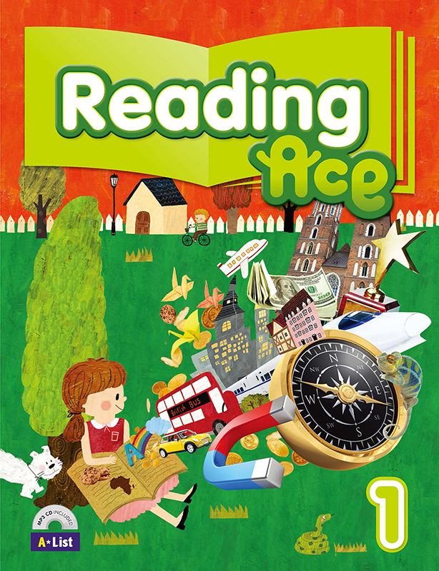 Reading Ace 1 (B+W+CD+P) 대표이미지