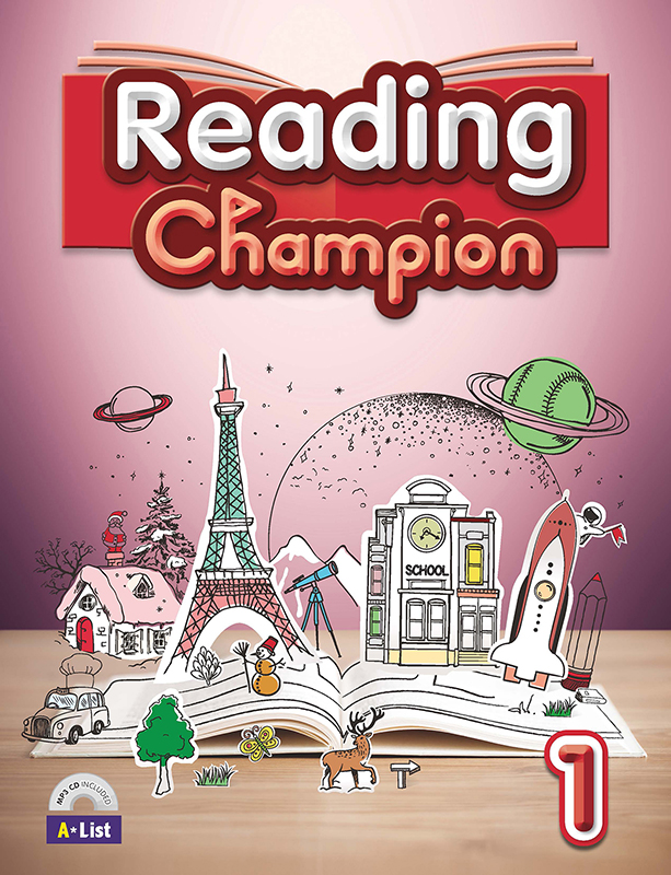 Reading champion 1 (B+W+MP3 CD+Summary)