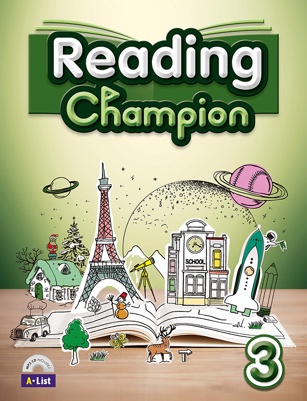 Reading champion 3 (B+W+MP3 CD+Summary) 대표이미지