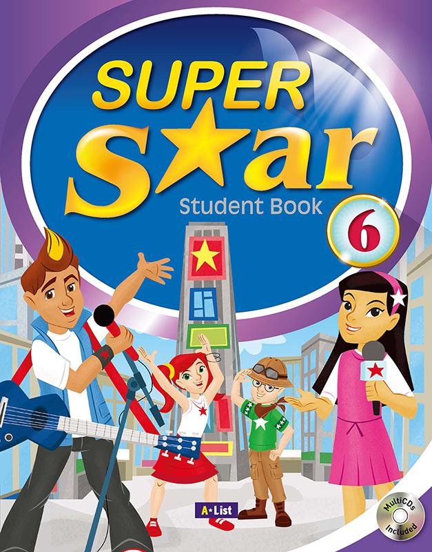 Thumnail : Super Star Student Book 6