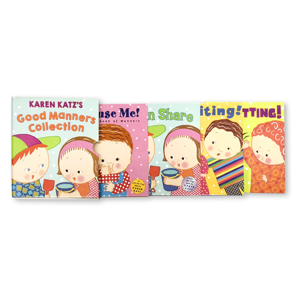Karen Katz's Good Manners Collection  (4 Board books)
