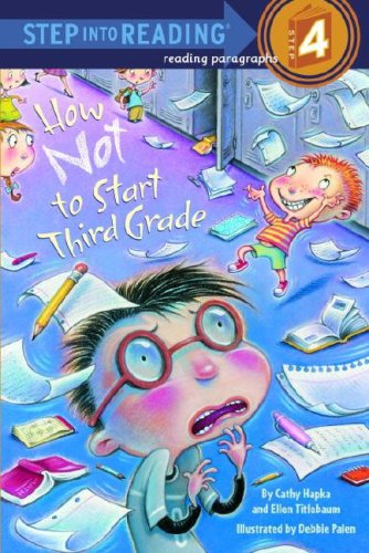 Thumnail : Step Into Reading 4 How Not to Start Third Grade