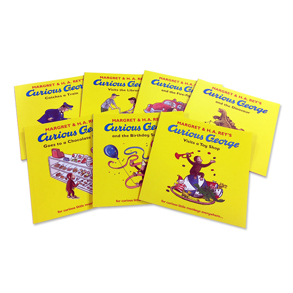 Curious George Collection (7 Paperbacks)