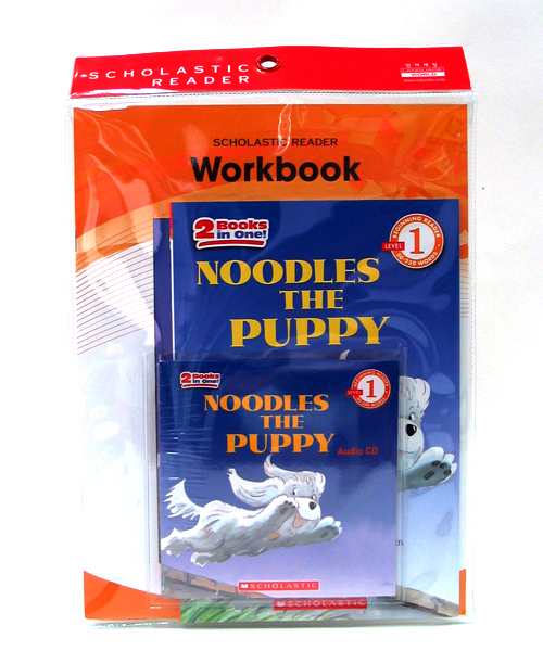 (Scholastic Leveled Readers 1)  #06:Noodles the Puppy (B+CD+W)