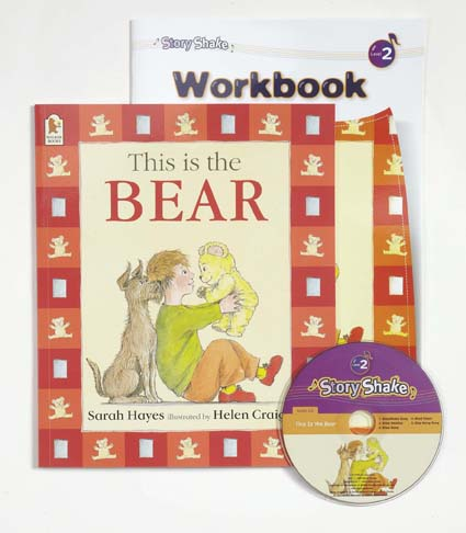 Story Shake Pack 2 This is The Bear (B+CD+W)