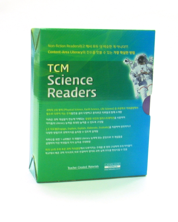 TCM Science Readers (level3~4) Box Set