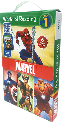 World of Reading Marvel Boxed Set
