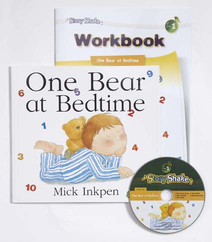 Story Shake Pack 1 One Bear at Bedtime (B+CD+W)