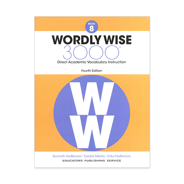 Wordly Wise 3000: Book 08 (4/E)