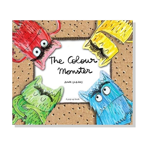 The Colour Monster Pop-Up (Hardcover)