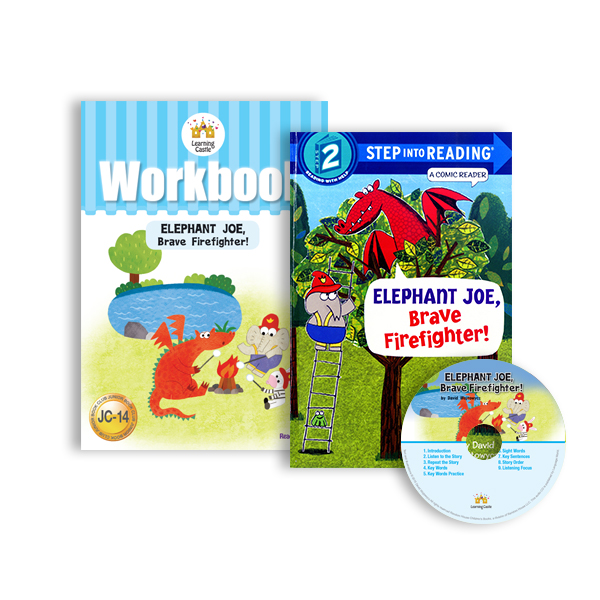 러닝캐슬 JC-14-Elephant Joe, Brave Firefighter! (SB+WB+CD)